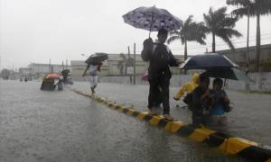 Φιλιππίνες: 1,7 εκατ. άνθρωποι εγκατέλειψαν τις εστίες τους εξαιτίας των καιρικών φαινομένων