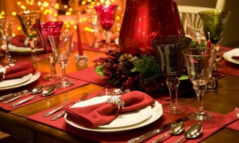 Ετοιμάζεστε για το χριστουγεννιάτικο τραπέζι; Αυτές είναι οι συμβουλές του ΕΦΕΤ