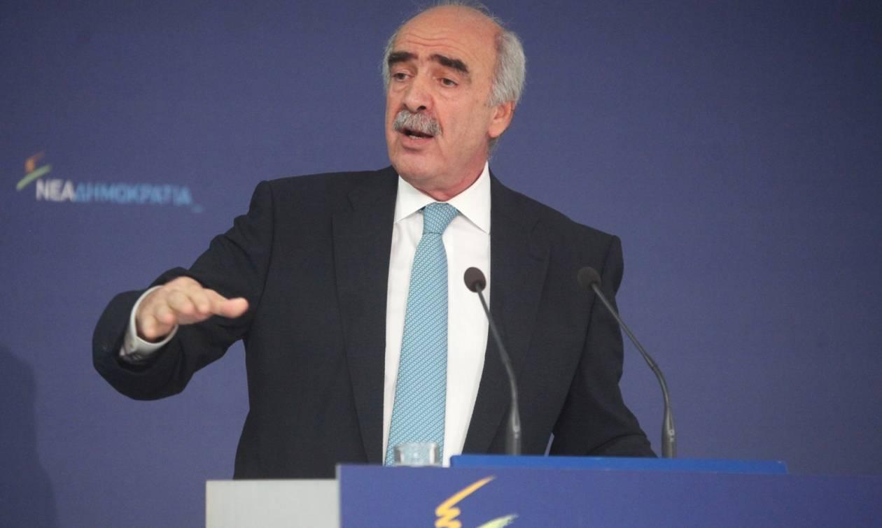 Εκλογές ΝΔ 2ος γύρος: Ο Μεϊμαράκης δηλώνει πίστη στον Καραμανλή