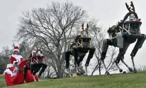 Τάρανδοι – ρομπότ βγάζουν τον Ρούντολφ στην ανεργία; (video)