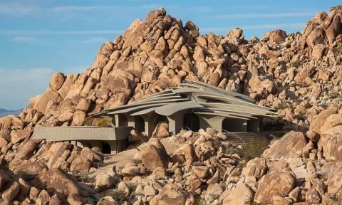 Το σπίτι της ερήμου που εντυπωσιάζει (pics)