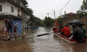 Παραγουάη: Σοβαρές πλημμύρες πλήττουν έκταση στα σύνορα με Ουρουγουάη, Αργεντινή και Βραζιλία