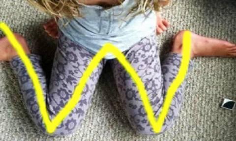 Προσοχή: Αν δείτε το παιδί σας να κάθετε έτσι, σταματήστε το αμέσως! Δεν πάει ο νους σας γιατί...