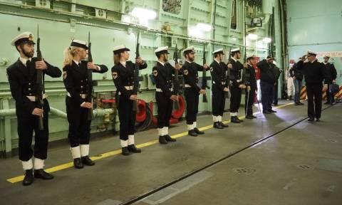 Επίσκεψη Α/ΓΕΝ σε Πολεμικά Πλοία (pics)