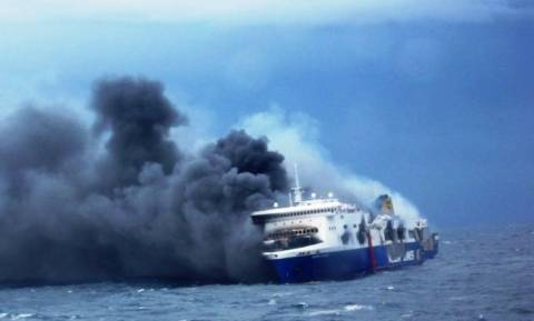 Φωτιά στο Norman Atlantic: Το  σύστημα πυρασφάλειας ενεργοποιήθηκε σε λάθος γέφυρα (Vid)