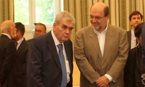 Παπαγγελόπουλος - Αλεξιάδης συναντούν Οικονομικούς Εισαγγελείς