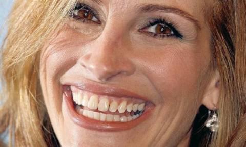 Tο χαμόγελο της Τζούλια Ρόμπερτς αξίζει 30 εκατ. δολάρια!