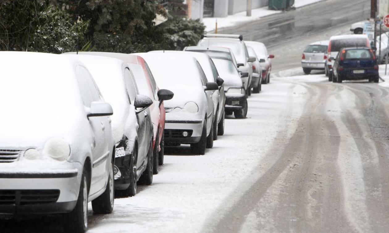 Έρχεται χιονιάς – Σε αυτές τις πόλεις θα το στρώσει