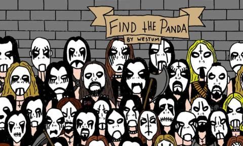 Σαρώνει στο διαδίκτυο: Βρείτε το Πάντα ανάμεσα στους οπαδούς της Black Metal!