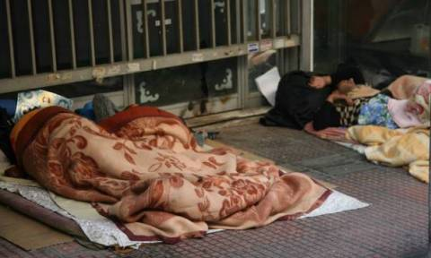 Μέτρα για τους αστέγους από το δήμο Αθηναίων