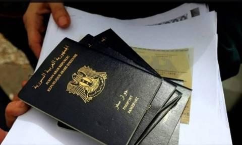 «Κώδωνας κινδύνου» για πλαστά συριακά διαβατήρια σε Ελλάδα και Γαλλία