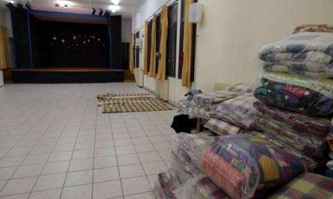Άνοιξαν οι θερμαινόμενες αίθουσες για τους άστεγους εν΄ όψει κακοκαιρίας