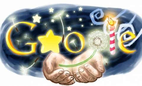 Τα πέντε καλύτερα doodle της Google για το 2015