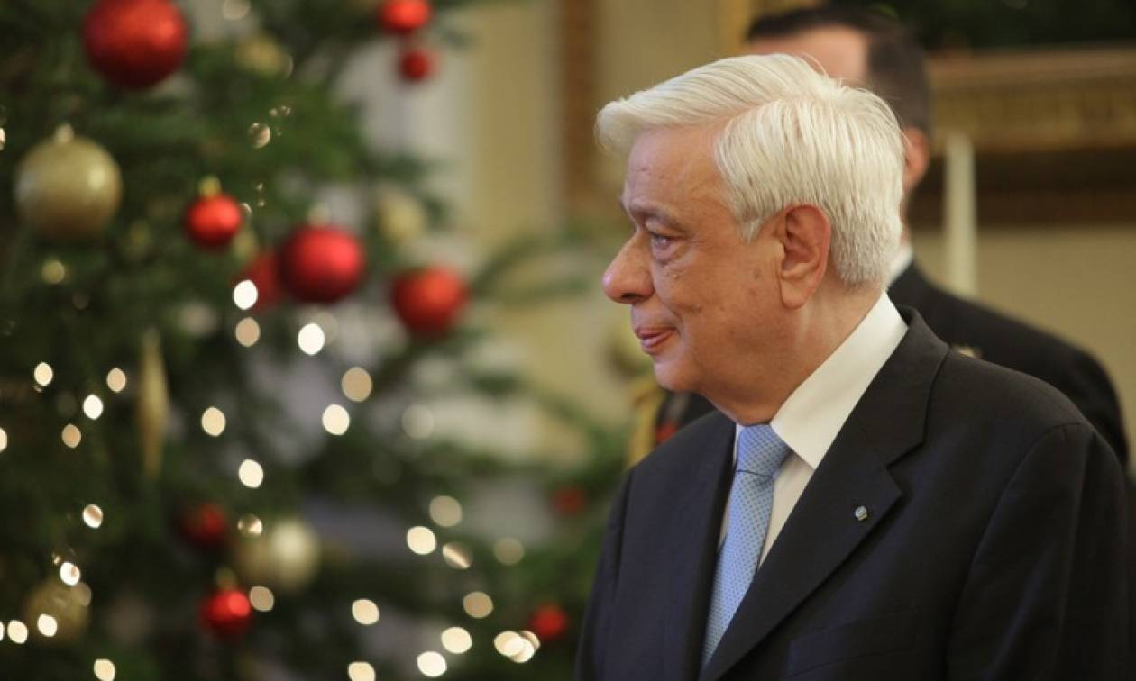 President says Greece must return to growth while staying in euro, in New Year message