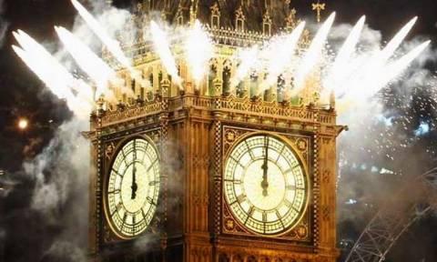 Το Λονδίνο υποδέχεται το 2016 με ένα από τα καλύτερα σόου πυροτεχνημάτων που έχετε δει (Vid)