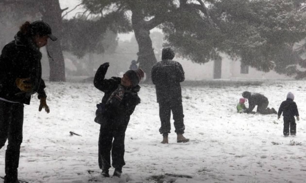 Πρωτοχρονιά: Με χιόνια και πολικό ψύχος η πρώτη μέρα του 2016!