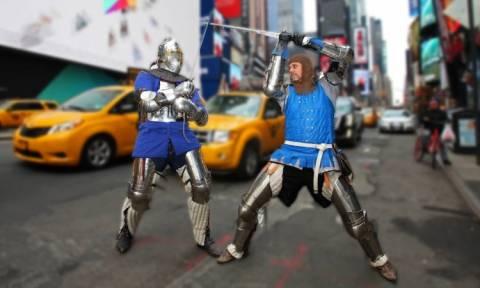 Fight Club για μεσαιωνικούς ιππότες (Vid)