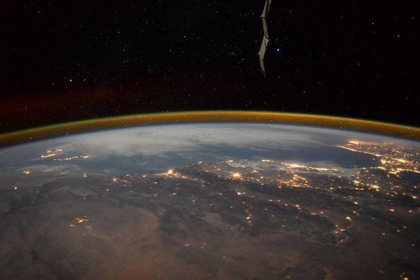 Η γη μέσα απο τα μάτια ενός αστροναύτη