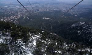 Αίσιο τέλος έλαβε η περιπέτεια εκδρομέων στην Πάρνηθα