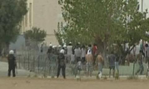 Ένταση μεταξύ μεταναστών και Αστυνομίας στο Κέντρο Κράτησης Μεταναστών της Κορίνθου