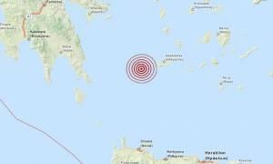 Σεισμός 3,2 Ρίχτερ δυτικά της Μήλου