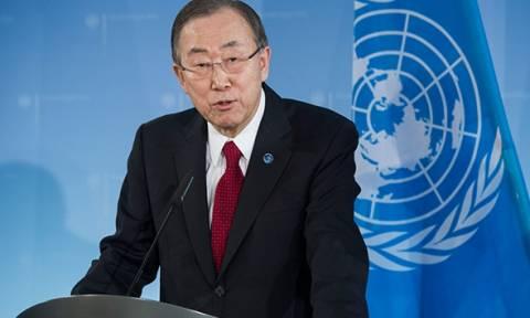 «Βαθιά απογοητευμένος» για την εκτέλεση του αλ-Νιμρ ο Μπαν Κι Μουν
