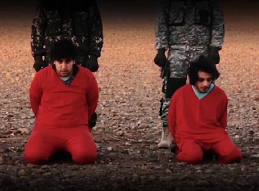 Βίντεο σοκ: Οι τζιχαντιστές απειλούν τον Κάμερον και εκτελούν Βρετανούς «κατασκόπους»