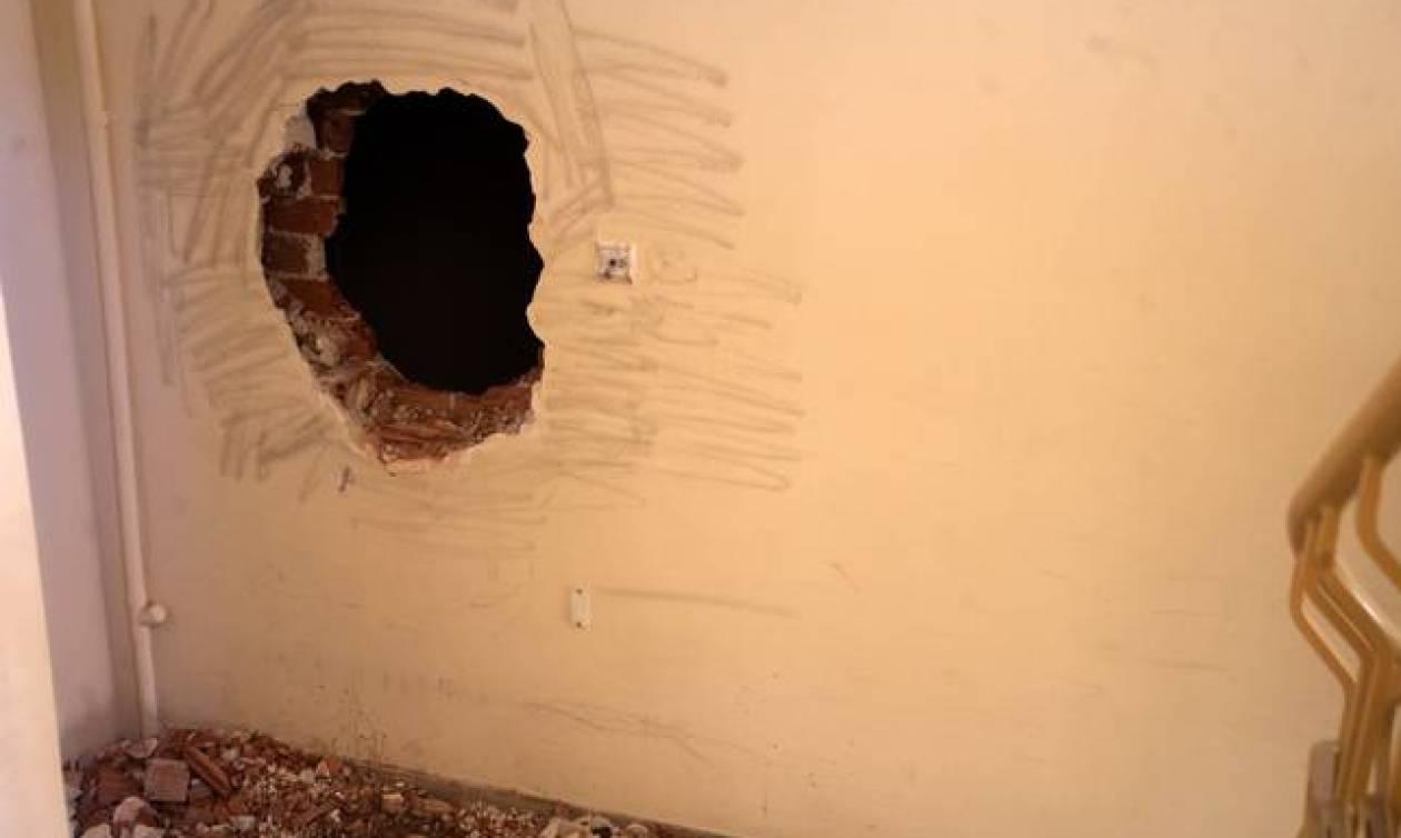 Απίστευτο: Έσκαψαν τοίχο ξενοδοχείου στη Λάρισα και «τρύπωσαν» σε φαρμακείο!