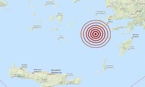Σεισμός 4,2 Ρίχτερ δυτικά της Νισύρου