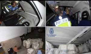 Ισπανία: Κατασχέθηκαν τρεις τόνοι κοκαΐνης - Σύλληψη 12 ύποπτοι από διάφορες χώρες