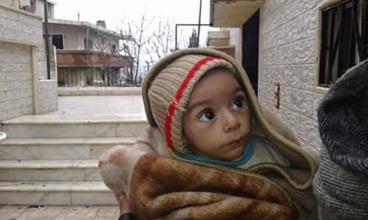 Συρία: Το φριχτό πρόσωπο του πολέμου αποτυπωμένο στα παιδιά (Video)