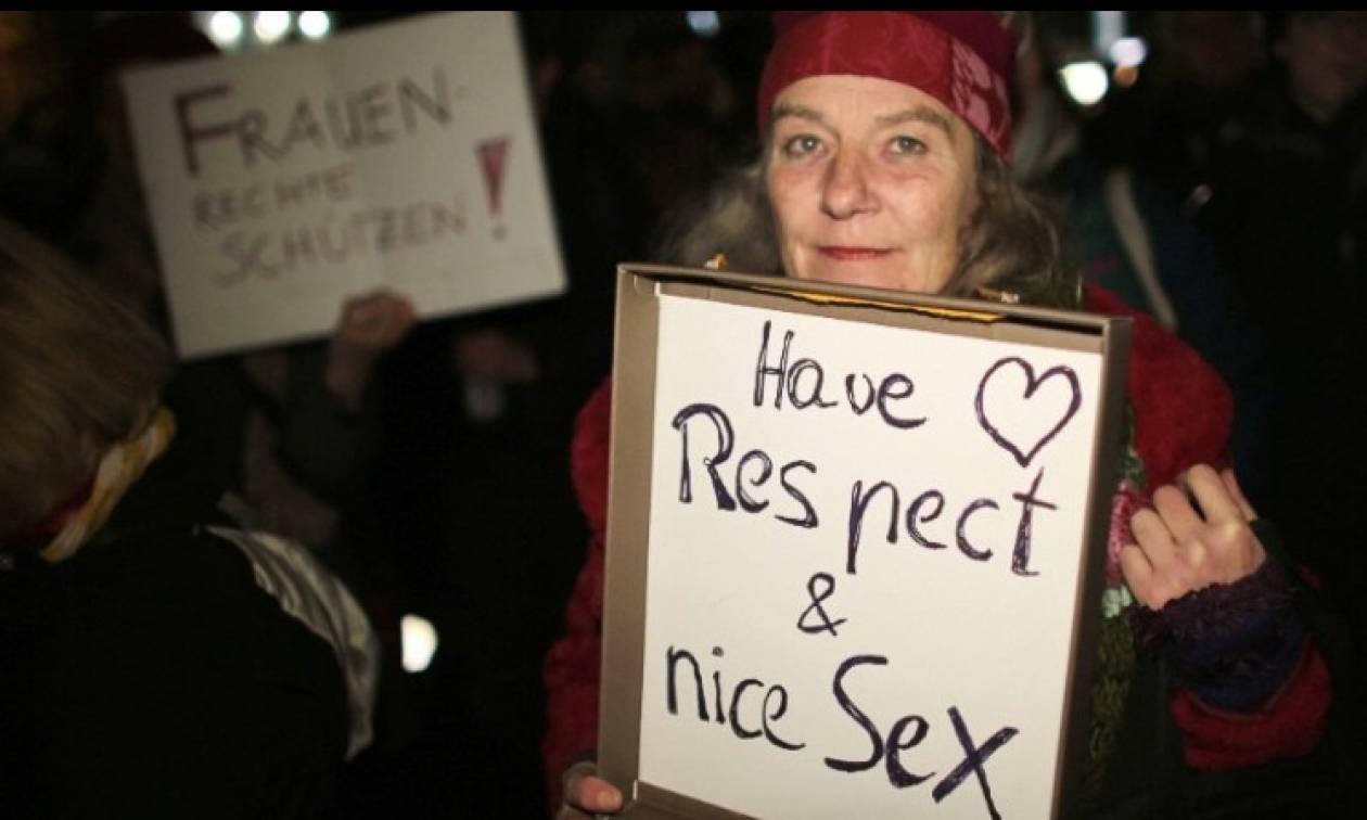 Γερμανία: Με σφυρίχτρες και κατσαρόλες διαδήλωσαν στην Κολωνία εκατοντάδες γυναίκες κατά της βίας!