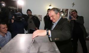 Εκλογές ΝΔ 2ος γύρος: Στη Θεσσαλονίκη ψήφισε ο Κώστας Καραμανλής (photo)