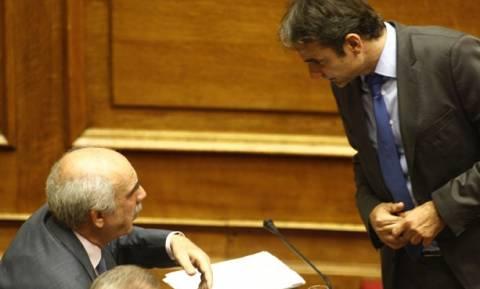 Εκλογές ΝΔ: Ο Μεϊμαράκης συνεχάρη τον Κυριάκο Μητσοτάκη