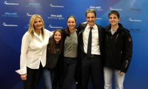 Εκλογές ΝΔ: Η οικογενειακή φωτογραφία του Κυριάκου Μητσοτάκη μετά την νίκη στις εκλογές (pic)