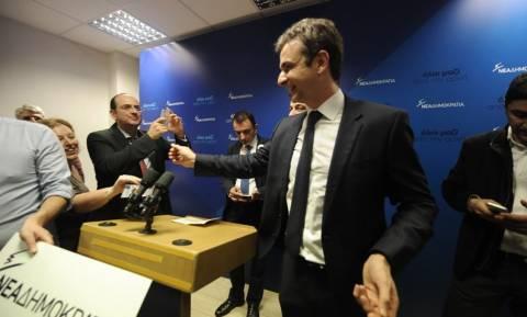 Εκλογές ΝΔ: Πρόεδρος της Νέας Δημοκρατίας με 51,6% ο Κυριάκος Μητσοτάκης