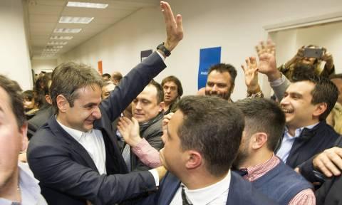 Εκλογές ΝΔ: Κέρδισε τη «μάχη της Θεσσαλονίκης» ο Κυριάκος Μητσοτάκης