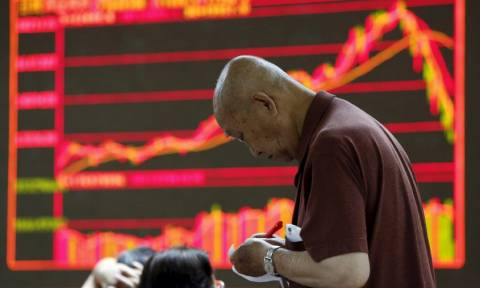 Χρηματιστήρια: Πτώση και πάλι στη Σαγκάη