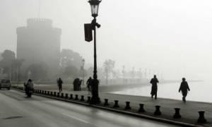 Κακοκαιρία: Πέπλο ομίχλης έχει καλύψει τη Θεσσαλονίκη