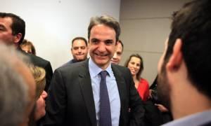 Εκλογές ΝΔ: Ο Κυριάκος Μητσοτάκης παρέλαβε το «κλειδί» της ΝΔ