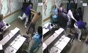 Βίντεο – σοκ: Γιατρός σκοτώνει ασθενή του με μία μπουνιά!