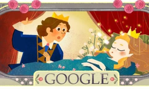 Σαρλ Περώ: Η Google τιμά με doodle την 388η επέτειο από τη γέννηση του (photos+video)