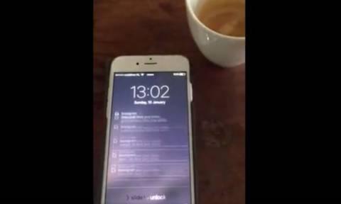 Έτσι είναι το κινητό σου όταν έχεις 8.000.000 followers! (video)