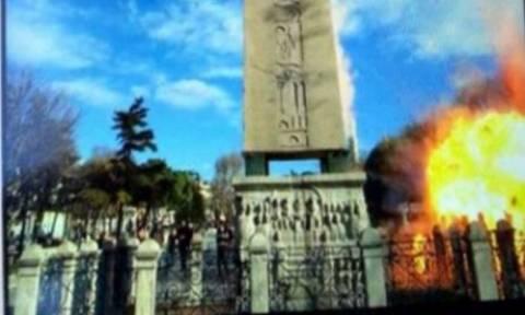 Η «φωτογραφία ντοκουμέντο» από τη στιγμή της έκρηξης στην Κωνσταντινούπολη που διχάζει