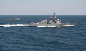 Το Ιράν κατέλαβε δύο πολεμικά πλοία των ΗΠΑ (video)