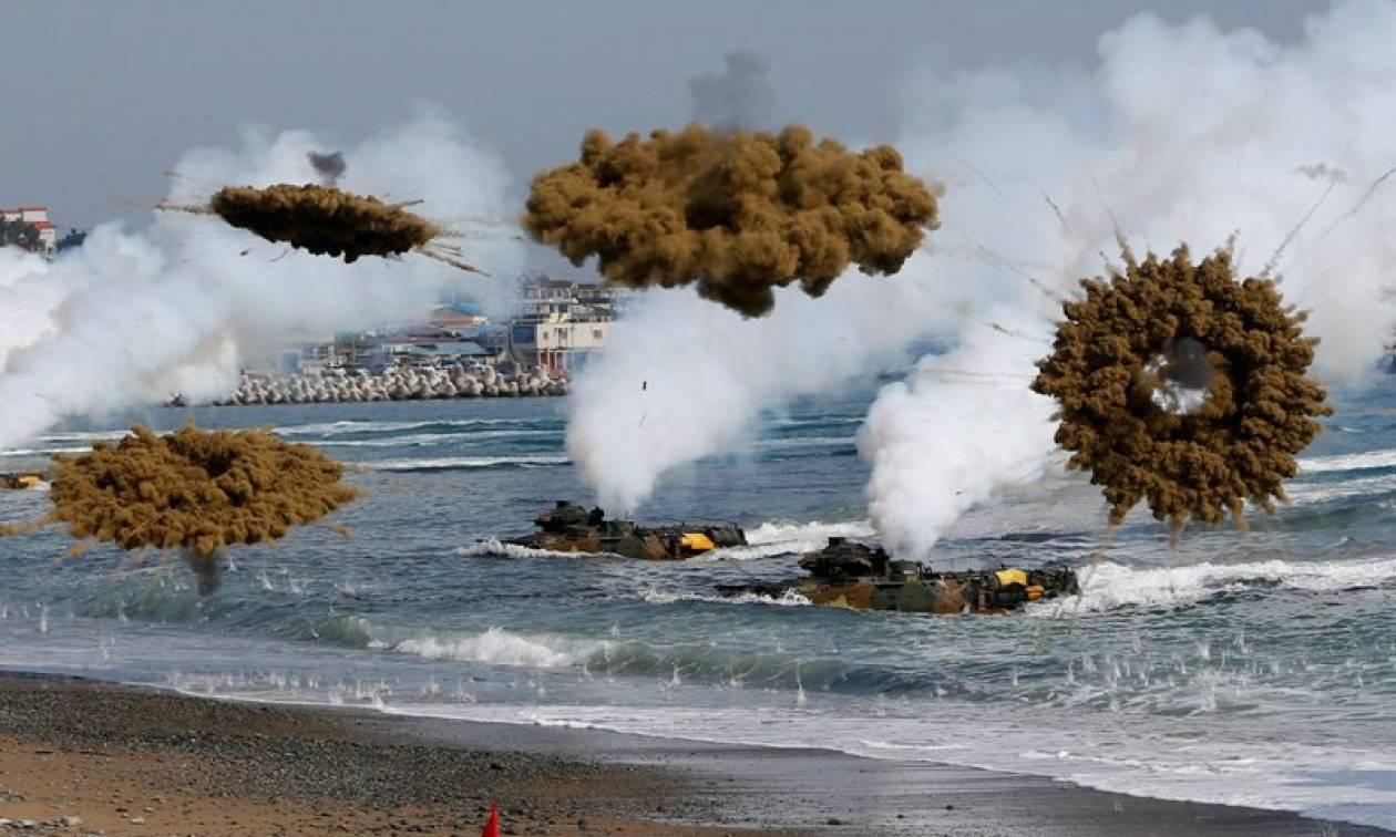 Πυρά στα σύνορα με τη Βόρεια Κορέα