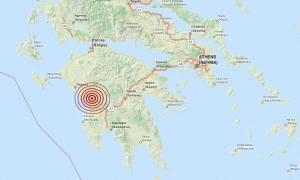 Σεισμός 3,5 Ρίχτερ στην Ηλεία
