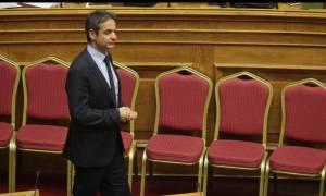 Τις βασικές κατευθύνσεις για τη ΝΔ δίνει ο νέος πρόεδρος στους βουλευτές