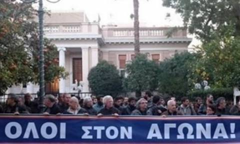 Сегодня центр Афин перекрыт из-за массовых акций протеста