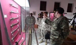 Επίσκεψη Στελεχών του Στρατού Ξηράς των Ηνωμένων Αραβικών Εμιράτων στην Χαλκίδα (pics)